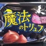 魔法のトリュフというお菓子が本当に溶けなくて美味しい