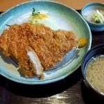 「かつ敏(浦和美園)」にトンカツ食べに行きました。お腹いっぱいですわ。