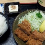 豚珍館(東川口)でカツを食べました、厚くてサクサクのカツに大満足のお味でした。