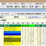 TARGETで出馬表から出走馬の産駒成績を調べる方法(同コース)