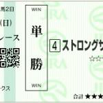 【予想】2015年3月29日中山11RマーチSストロングサウザー