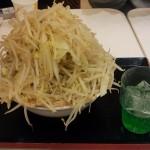 越谷レイクタウンの「ジャンクガレッジ」で野菜トリプルを食べたよ
