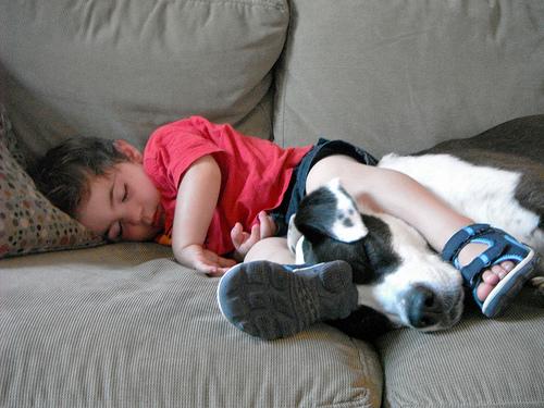 20150724子供寝る