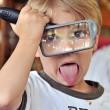 子供虫眼鏡