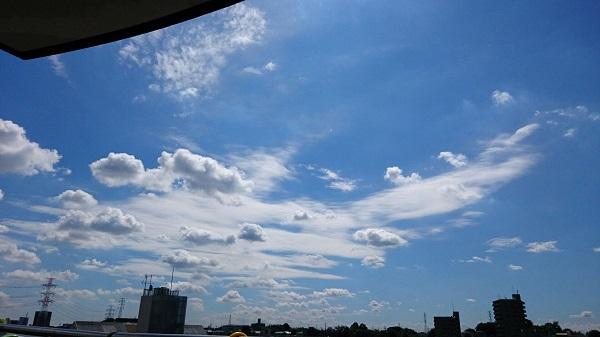 さいたま市快晴の空