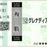 【予想】2015年12月12日中山10Rグレナディアーズ