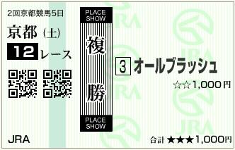 20160213京都12Rオールブラッシュ