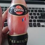ブラッドオランジーナを飲んだ感想はカシスオレンジみたい