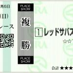 【予想】2016年3月13日阪神7Rレッドサバス