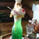 くりーむそーだぱふぇを珈琲屋OB北越谷店で食べたけどデカイ