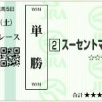 【予想】2016年4月9日阪神5Rスーセントマリー
