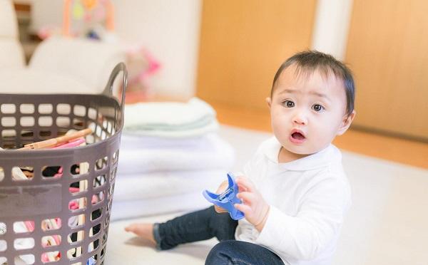 子供の世話と洗濯