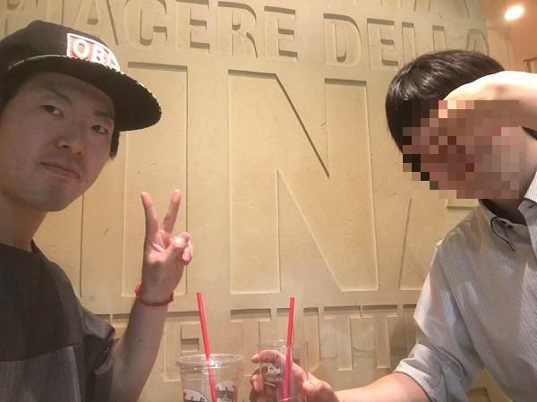 YUUKIさんと自分