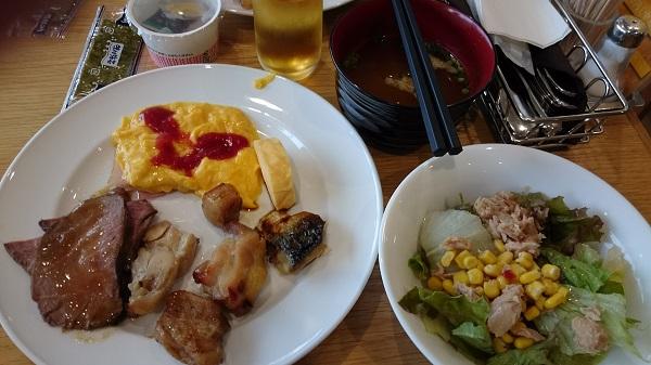 ロッテシティホテル_朝食