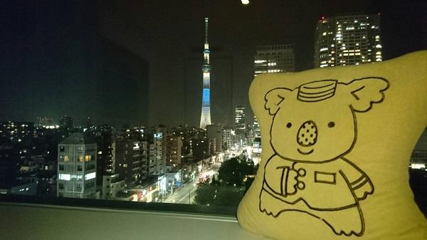 ロッテシティホテル_夜景2