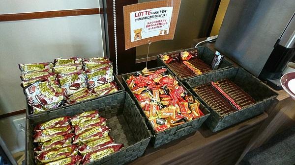 ロッテシティホテル_お菓子2