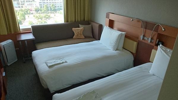 ロッテシティホテル部屋