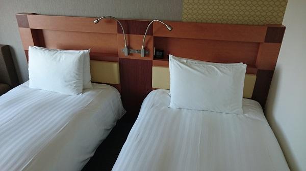 ロッテシティホテル_ベッド
