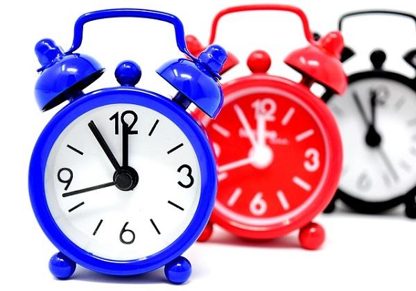 時計時代の流れ時間