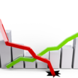 株価上がり下がり