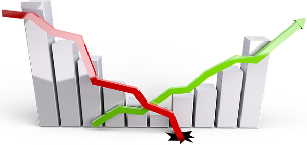 株価が下がり損をする